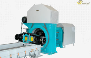 Taper Pole Swaging Machine